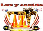 Luz y sonido aztev con d,j
