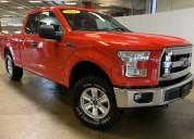Ford f150 4x4 rojo aÑo 2015