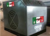 Chiller enfriador de agua de 12 toneladas