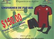 Uniformes de futbol economicos.