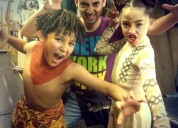 Cursos niÑos(as) actuaciÓn canto baile trabajaras