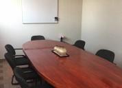 Sala de reuniones en renta desde $100