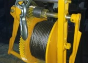 Malacate manual 500 kg entrega inmediata, ifamsa