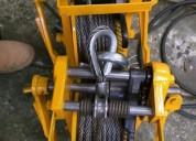 Servicio de mantenimiento para malacate manual