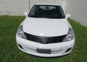 Vendo nissan tiida 1.8 sense sedan mt blanco 2012