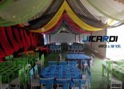 Carpas elegantes & banquetes en iztapalapa