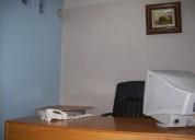Renta de oficinas amuebladas.