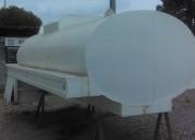 Pipa para agua de 10,000 lts nueva sobre cabina