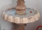 Fuente de concreto