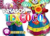 payasos para fiestas infantiles en texcoco