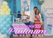 Animadoras para baby shower