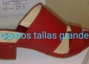 Zapatos tallas extras para dama