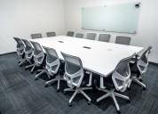 Espacios en salas de juntas ideal para sus reunion
