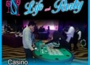 Renta de casino para fiestas, eventos, despedidas