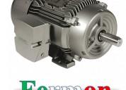 Motor trifasico de 20hp 4p 25a, siemens