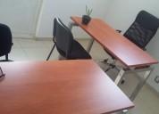 Bonita oficina fisica para 2 personas
