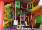 Estimulación temprana, alberca de pelotas, montables, corrales para áreas infantiles