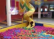 Fabrica de juegos infantiles, modulares, para salones y centros de entretenimiento