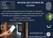 Sistemas biometricos y control de acceso