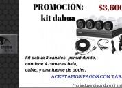 Cctv kit dahua promoción