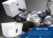 Moto-caja seguridad para motos repartidoras de mer
