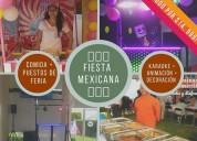 Fiestas mexicanas todo incluido