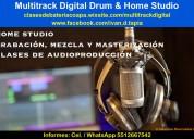 Clases de audioproduccion zona sur cdmx
