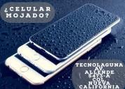 Reparacion de tablets y celulares mojados