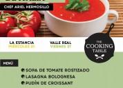 Clases, cursos y talleres en the cooking t.