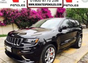Peñoles remata jeep grand cherokee 2014 srt8 4×4