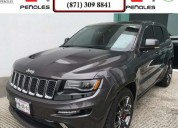 Peñoles remata jeep grand cherokee 2015 5p limited