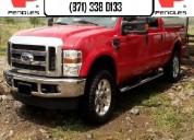 Peñoles remata ford f250 super duty  4x4 diesel 20