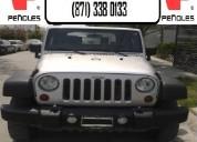 Peñoles remata jeep wrangler 4x4 2010