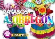 Payasos para fiestas en alvaro obregón - cdmx