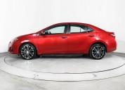Toyota corolla 2015 sedan rojo