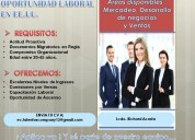 Oferta de trabajo en los eeuu // las vegas/ nevada