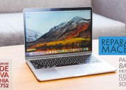 Reparación de macbook de centro de carga