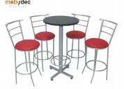 Periqueras sillas para restaurantes y bares