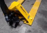 Renta de patines hidraulicos de 2.5 toneladas