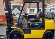 Montacargas komatsu de 2.5 ton usado