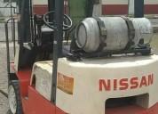 Montacargas nissan usado en aguascalientes