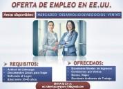 Oferta de trabajo en las vegas-nevada( eeuu)
