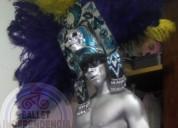 El azteca de plata en tu fiesta llamanos