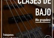 Academia de música arp. clases de bajo.