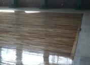 Instalación, pulido y barnizado de pisos de madera