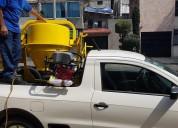 Revolvedora 1 saco con motor honda 13 hp dfac