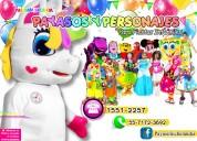 Show de payasos con unicornio para tu fiesta