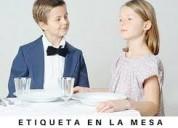 Curso infantil modales valores conducta protocolo