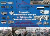 Reparación y mantenimiento a equipos de refrigeración.
