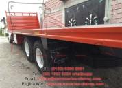 Plataformas, carrocerías de refrigeración y congel